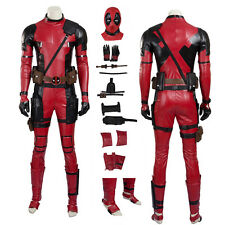 X-Men Deadpool Wade Wilson Cosplay Costume Handmade Full Set
