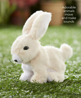 Hoppy the Rabbit Easter Bunny Battery Operated Hopping w Sounds Rabbit Kids Fun