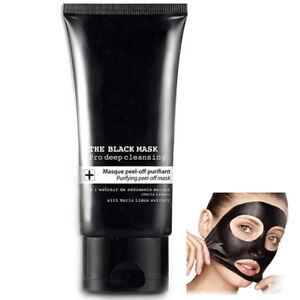 Gesichts Maske Hautklar Anti-Mitesser Holzkohle Schwarze Peel-Off Maske 50ml