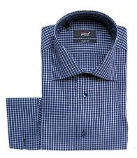 Muga Slim-fit Herren Hemd*270*Gr.XL Dunkelblau