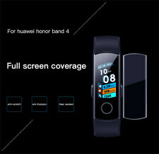 5x Full Screen Protector Film Anti-explosion Waterproof For Huawei Honor Band 4