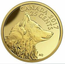 2017 Canada 25-Cents Pure Gold Coin Arctic Fox