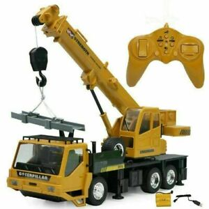 Creative 1/24 Remote Control Crane - 8 Channel Full Function RC Crane Truck Toy