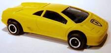 Majorette #219 Lamborghini Diablo Yellow Exotic Sports Car w/Bull on Nose 1/58