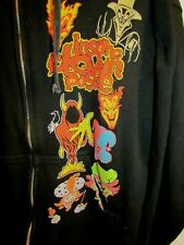 Vintage Insane Clown Posse ICP Pyscopathic Records TULTEX Full Zip JACKET HOODIE