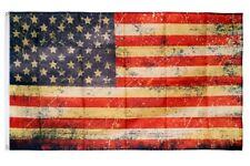 Fahne Vintage USA Flagge amerikanische Hissflagge 90x150cm