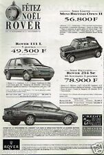 Publicité advertising 1993 Rover 111 L Mini British Open 214 Se