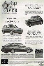 Publicité advertising 1993 Rover 111 L Mini British Open 214 Se