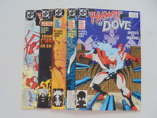 5x Hawk & Dove US DC Comic Sammlung Zustand 1