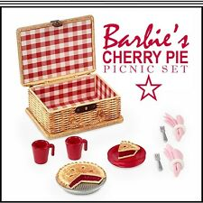 Cherry Pie Picnic Basket, Pie 'n Supplies For The Adult Collector Mattel #CGT29