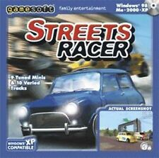STREETS RACER   Start your engines and hang on   Win 7 Vista XP NEW