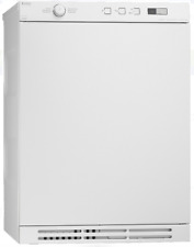 Asko T754Cw Line Series Classic 24 Inch Front Load Ventless Electric Dryer White
