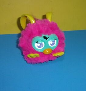 2012 Hasbro Furby Party Rockers Creature (Pink w/ Yellow Ears) Working