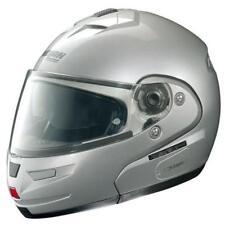 Nolan N103 Solid Flip Up Modular Motorcycle Helmet Platinum Silver XSmall XS