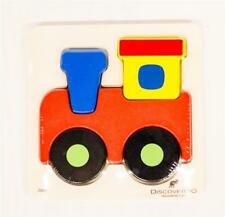 NEW Discoveroo Wooden Chunky Puzzle – Train