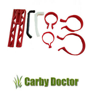 RING COMPRESSORS & PISTON STOP TOOL KIT FOR 2 STROKE SMALL ENGINES