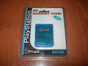 MEMORY CARD 2 MB 30 BLOCKS HITEC PARA PLAYSTATION NUEVA EN SU BLISTER