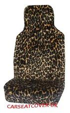 Volvo S40 (2007-10) Leopard Faux Fur Car Seat Covers - 2 x Fronts