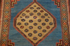EARLY 1800's SUPER ANTIQUE CAMEL WOOL/HAIR PERSIAN HERIZ BAKHSHAYESH RUG 2.7x4.5