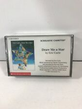 SCHOLASTIC (DRAW ME A STAR BY ERIC CARLE) CASSETTE TAPE/NO BOOK INCLUDED/NEW