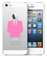 >> 2x ANONYMOUS DRESS DECAL STICKER VINYL FOR IPHONE 4 4s / 5 5s 5c / 6 6s <<