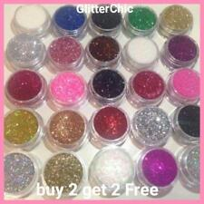 Glitter Pots BUY 2 Get 2 FREE!!! Eye Shadow Lip Temp Tattoo Nail Craft Face Body