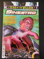⭐️ SINESTRO:  Year of the Villain #1a (2019 DC Comics) VF/NM Book