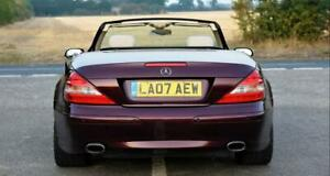 2007 Mercedes SL350 - Red (burgundy), Hardtop Convertible, Keyless - RELISTED