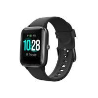 Smartwatch ID205L OLED Bluetooth Pulsuhr Fitness Smartband Sporttracker IP68 iOS