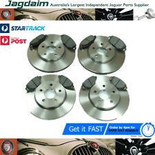 New Jaguar X-Type 2.0 2.5 3.0 V6 2000-2004 Rear & ront New Brake Discs &Pads Set