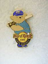 SANTO DOMINGO,Hard Rock Cafe Pin,Sport Bear VHTF