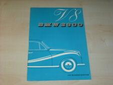 42140) BMW 2800 V8 Prospekt 09/1961