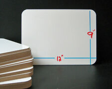"""9"""" x 12"""" Whiteboards with pens set of 30"""