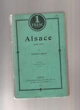 ALSACE 1871 1872  EDMONT ABOUT HACHETTE 1905