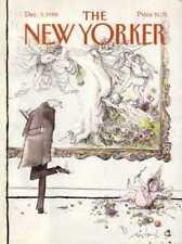 New Yorker COVER 12/05/1988 Fallen Cherub  SEARLE