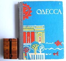 1969 USSR Ukraine ODESSA Town Pocket  Guide Book Illustrated
