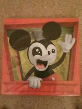 More details for disney 90 celebration - mickey all aboard framed canvas, kristin tercek -#46/250