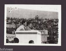 VINTAGE PHOTO / RAFAEL HERNANDEZ COLON & VELDA GONZALEZ / PUERTO RICO 80's #5