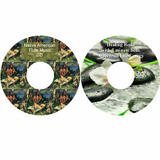 Native American Flute Music & Reiki with 5 Minute Bells 2 CDs Relaxation Massage