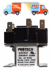 Honeywell Furnace Relay R8222B 1059 24 volt coil 2No/2Nc Contacts R8222B1059