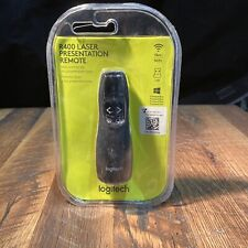 Logitech R400 Wireless Laser Presentation Remote USB New