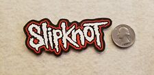Slip Knot Black Red and White Sticker Decal
