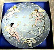 1974~New~Haviland/Limoges ~Five Golden Rings~12 Days of Christmas Plate #5~France