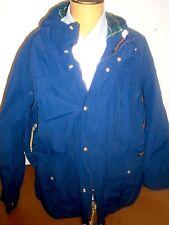 Polo Ralph Lauren Cotton Blend Hooded Parka Jacket NWT 3XLT $345 Slate Blue