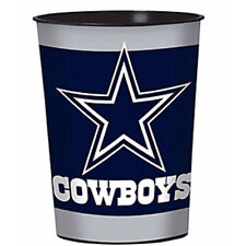 NFL DALLAS COWBOYS REUSABLE KEEPSAKE CUPS (2) ~ Birthday Party Supplies Sports