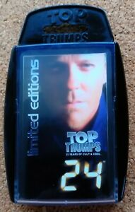 """Top Trumps Limited Editions - """"24"""" TV Series (2005) (Complete Set)"""