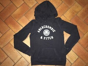 Sweat-shirt Abercrombie & Fitch taille XS bleu marine Très Bon État