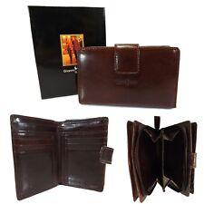 Gianni Conti Brown Leather Purse - Style: 9408086 - Italian leather - BNWT