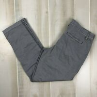 Maurices Women's Size 3/4 Gray Straight Leg Casual Career Pants Chinos