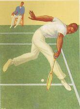 Tennis : LA REINE DES COURTS, Livret publicité raquette DONNAY. Voir description